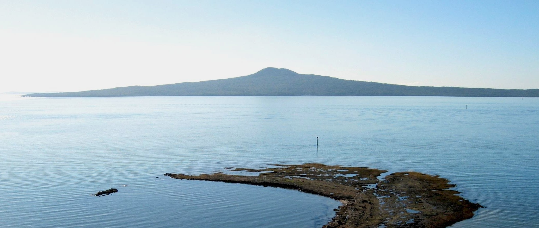 Rangitoto from Achilles Point Copy