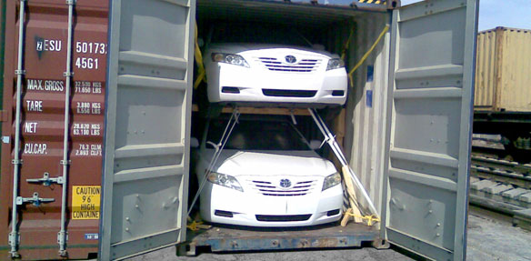 Moving Cars to Australia